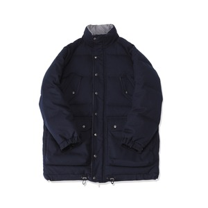 <B>SWELLMOB</B><br>6 pocket classic goose down parka<br>-gingham navy-