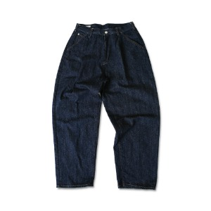 <B>SWELLMOB<br></b>Officer denim trousers<br>-nep denim-