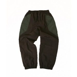 <B>SWELLMOB<br></b>Nylon sports suit (pants)<br>-olive/brown-