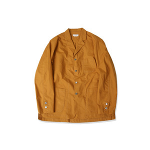 <B>SWELLMOB</B><br>Double face lounge jacket<br>-mustard-