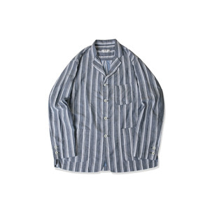 <B>SWELLMOB</B><br>Double face lounge jacket<br>-multi stripe-